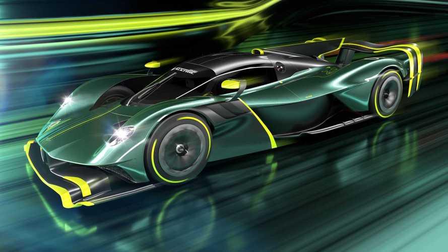 Aston Martin Valkyrie AMR Pro production version