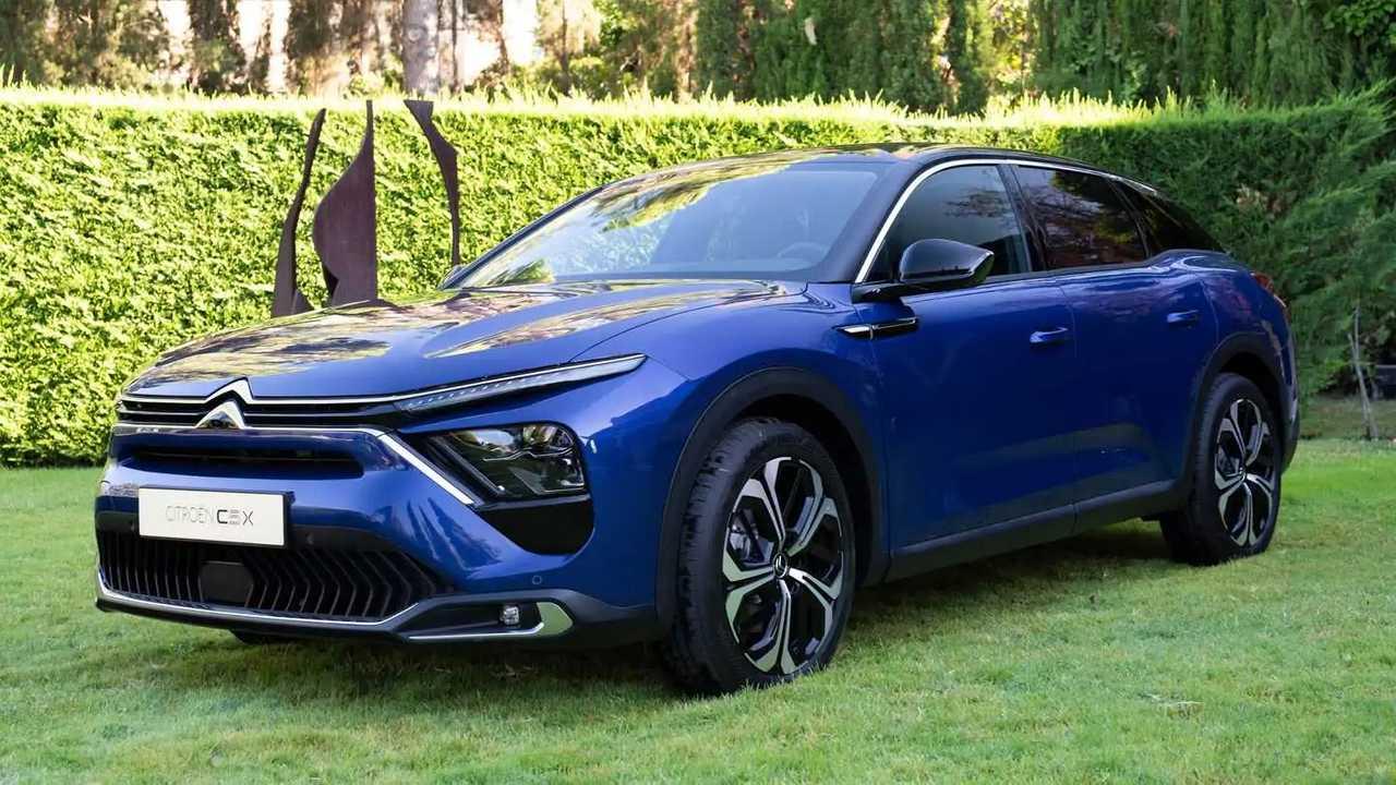 Citroën C5 X, así es la nueva berlina de la firma francesa