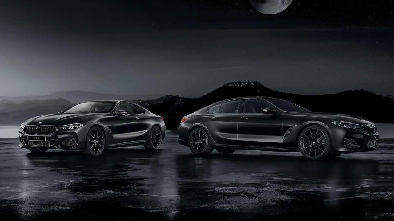 BMW 8 Series Frozen Black Edition (JDM)