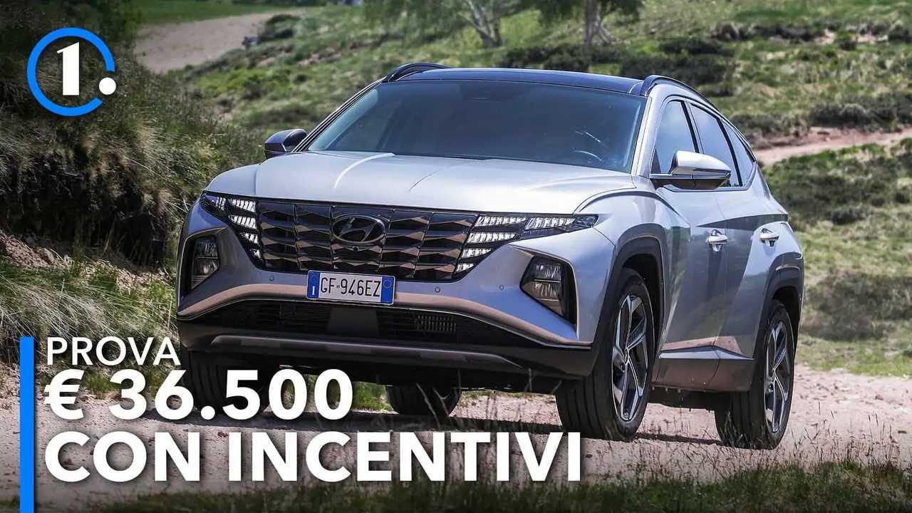 Hyundai Tucson plug-in hybrid, la prova