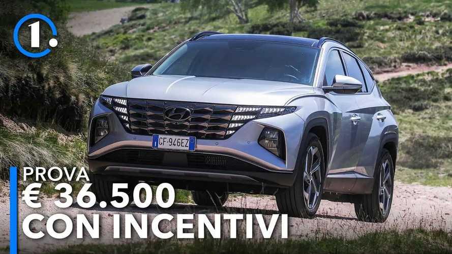 Hyundai Tucson, come va la plug-in da 36.500 euro con incentivi