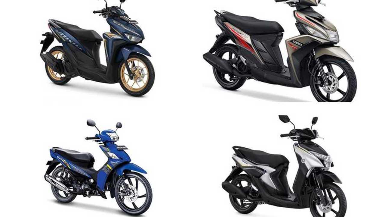Sepeda motor termurah 2021
