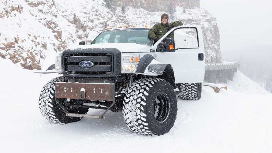 Ford Super Duty At Yellowstone National Park
