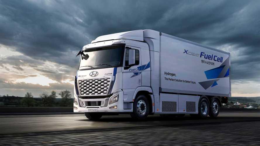 Hyundai XCient Fuel Cell, un milione di chilometri a idrogeno