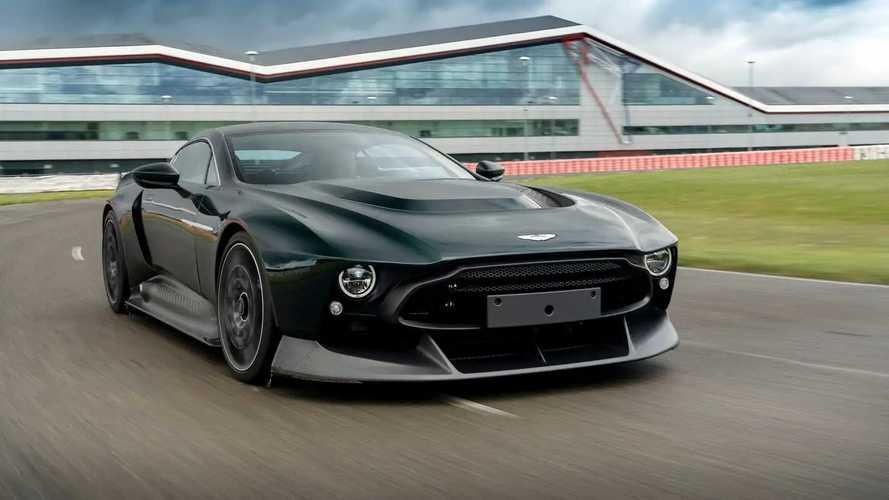 Aston Martin Victor, a prueba: un coche único en el mundo