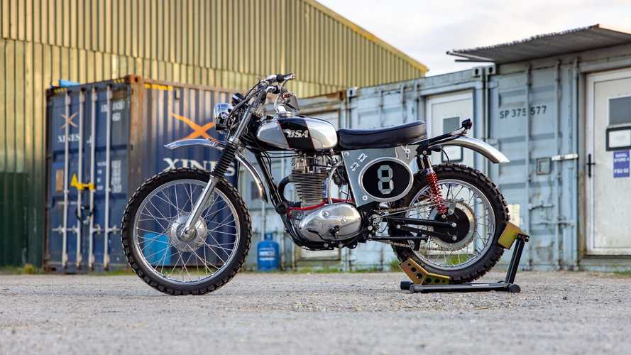UK: This 1973 BSA B50 MX will probably make its new owner jump for joy