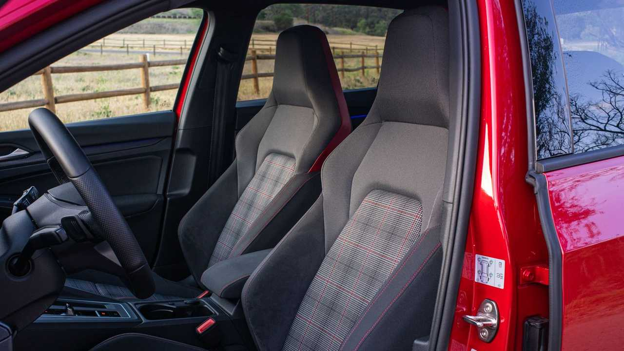 2021 Volkswagen GTI European-Spec Interior Front Seats