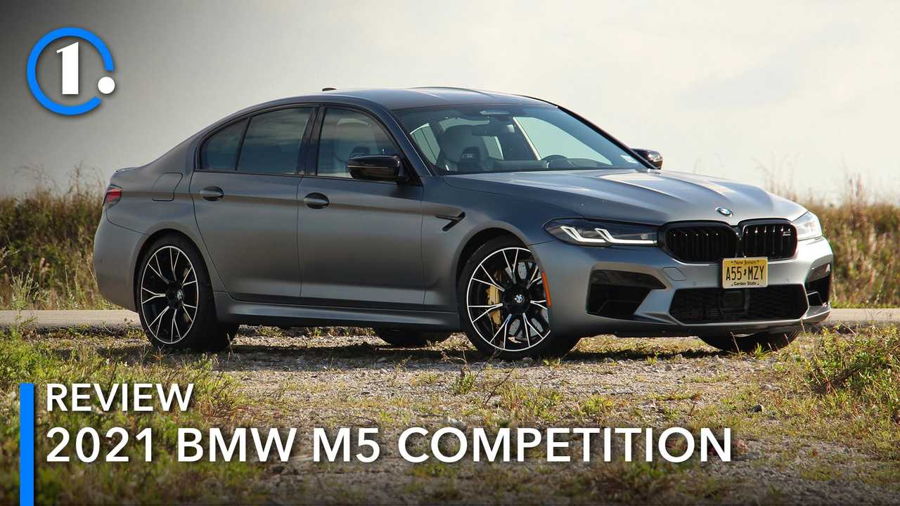 BMW M5 Competition 2021.