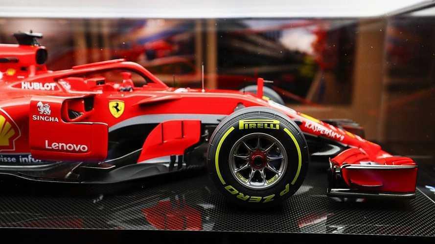 В Италии конфисковали макеты Ferrari и McLaren – из-за авторских прав