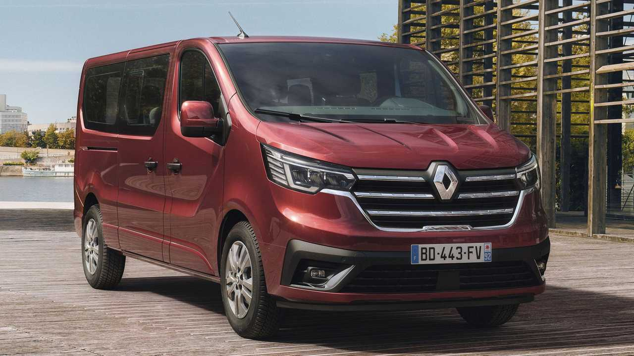 Renault Trafic Combi and SpaceClass (2021)