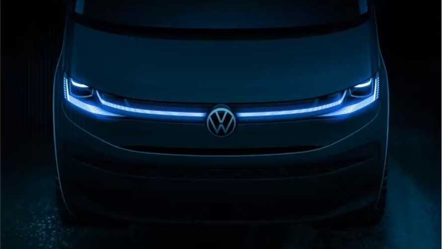 2022 Volkswagen T7 teased as Multivan in official design sketch