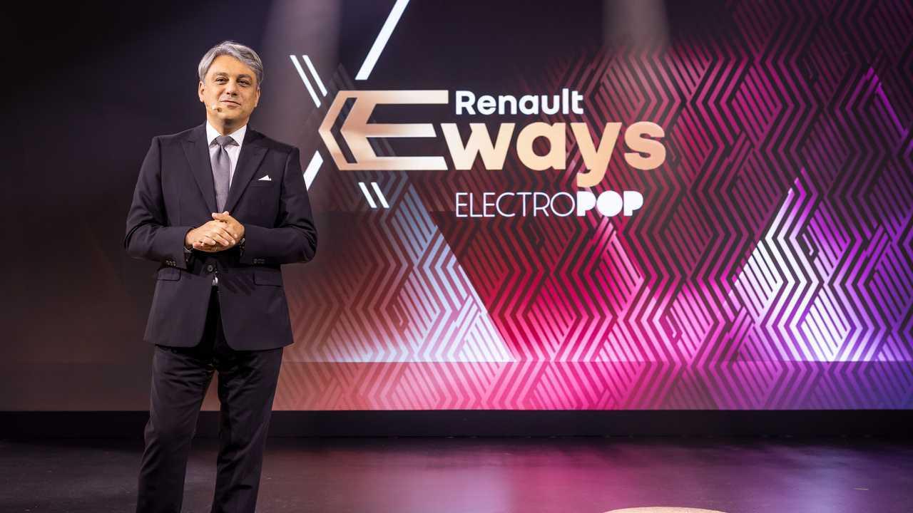 La Renault Megane elettrica tra le protagoniste dei Renault EWays