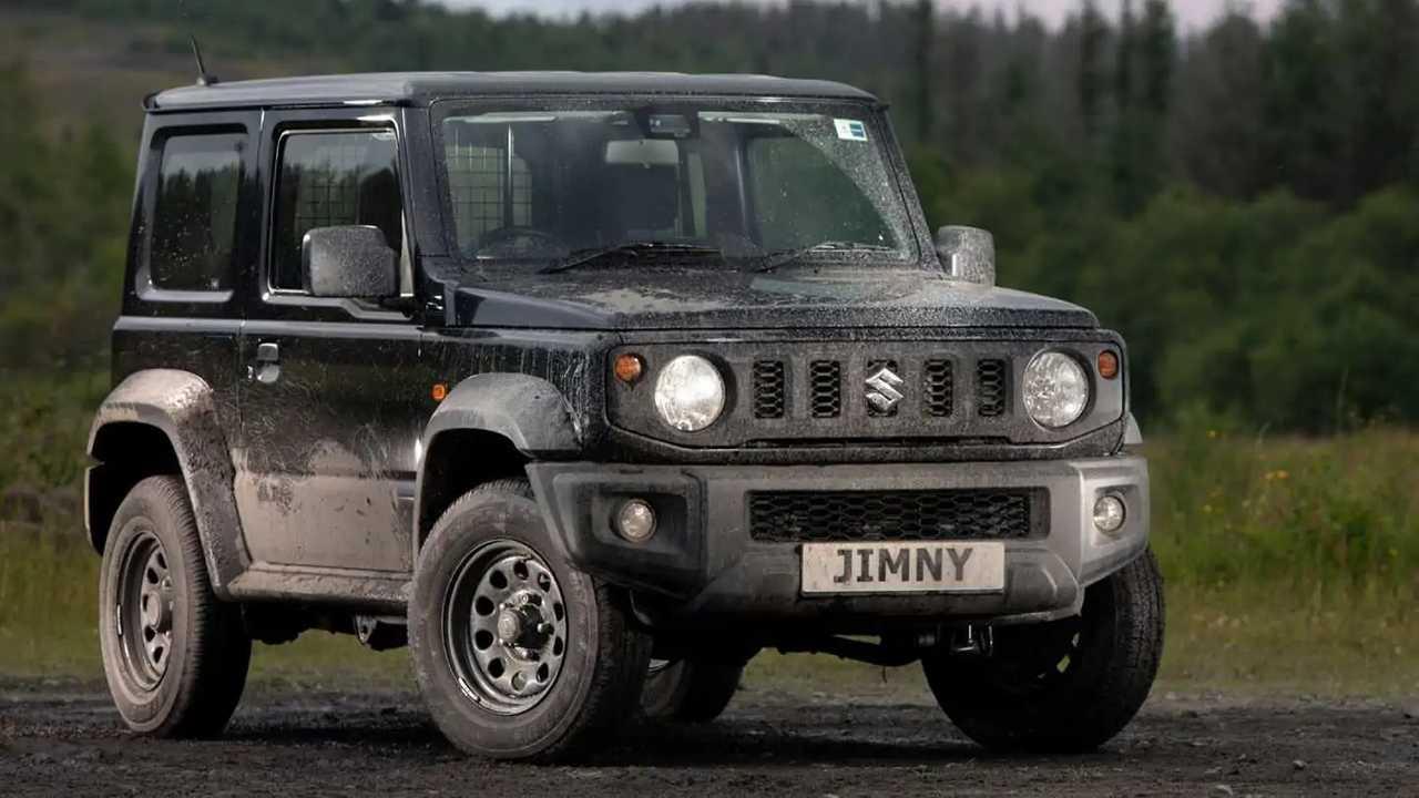 Suzuki Jimny Light Commercial in the UK