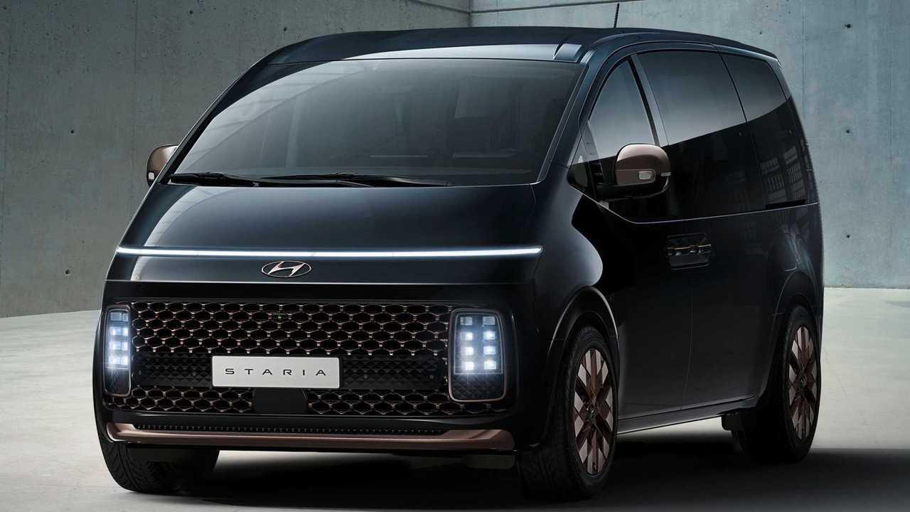Hyundai Staria 2021, un futurista monovolumen coreano de 11 plazas