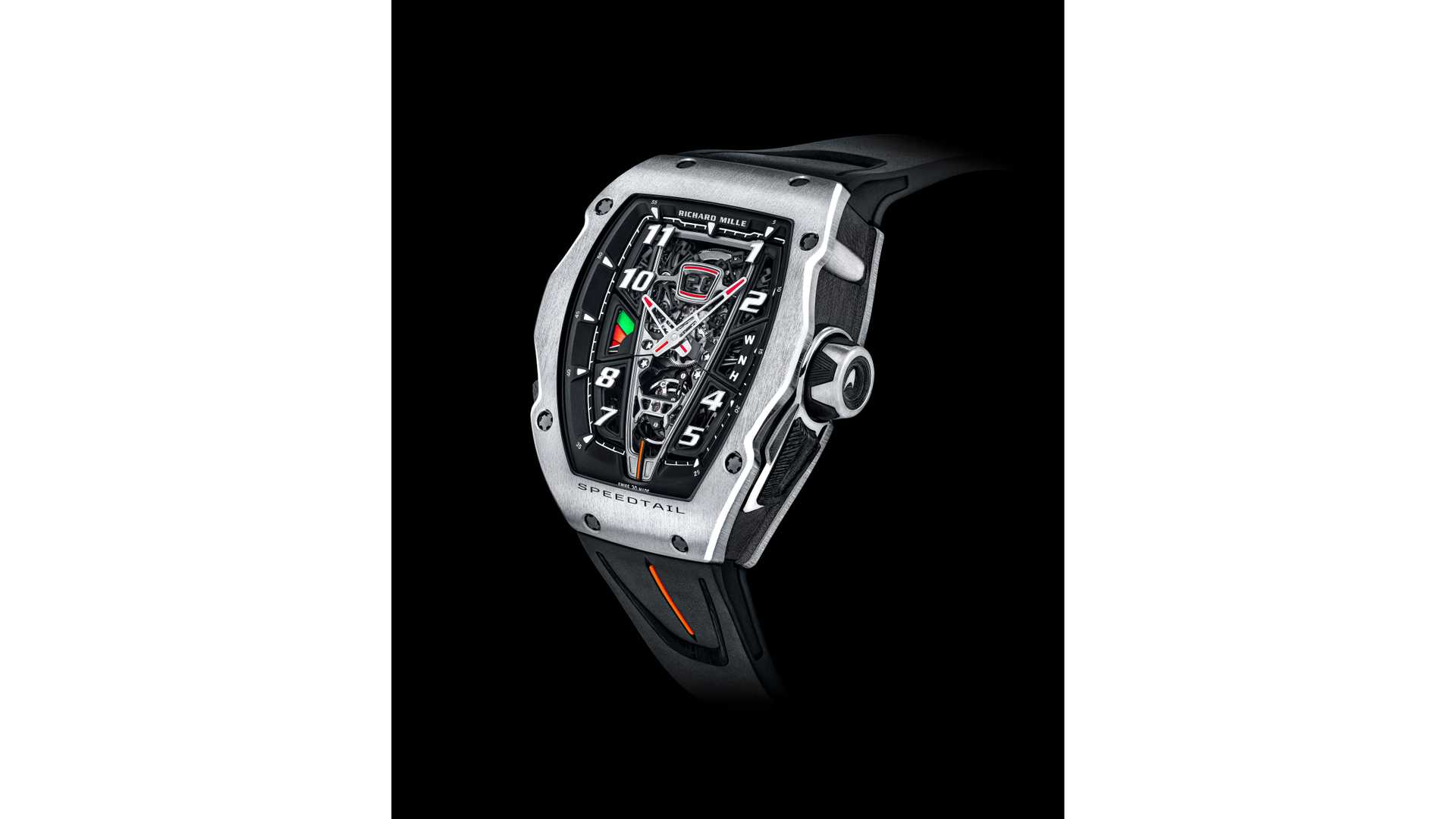 McLaren Speedtail Richard Mille RM 40-01 Watch Full Size