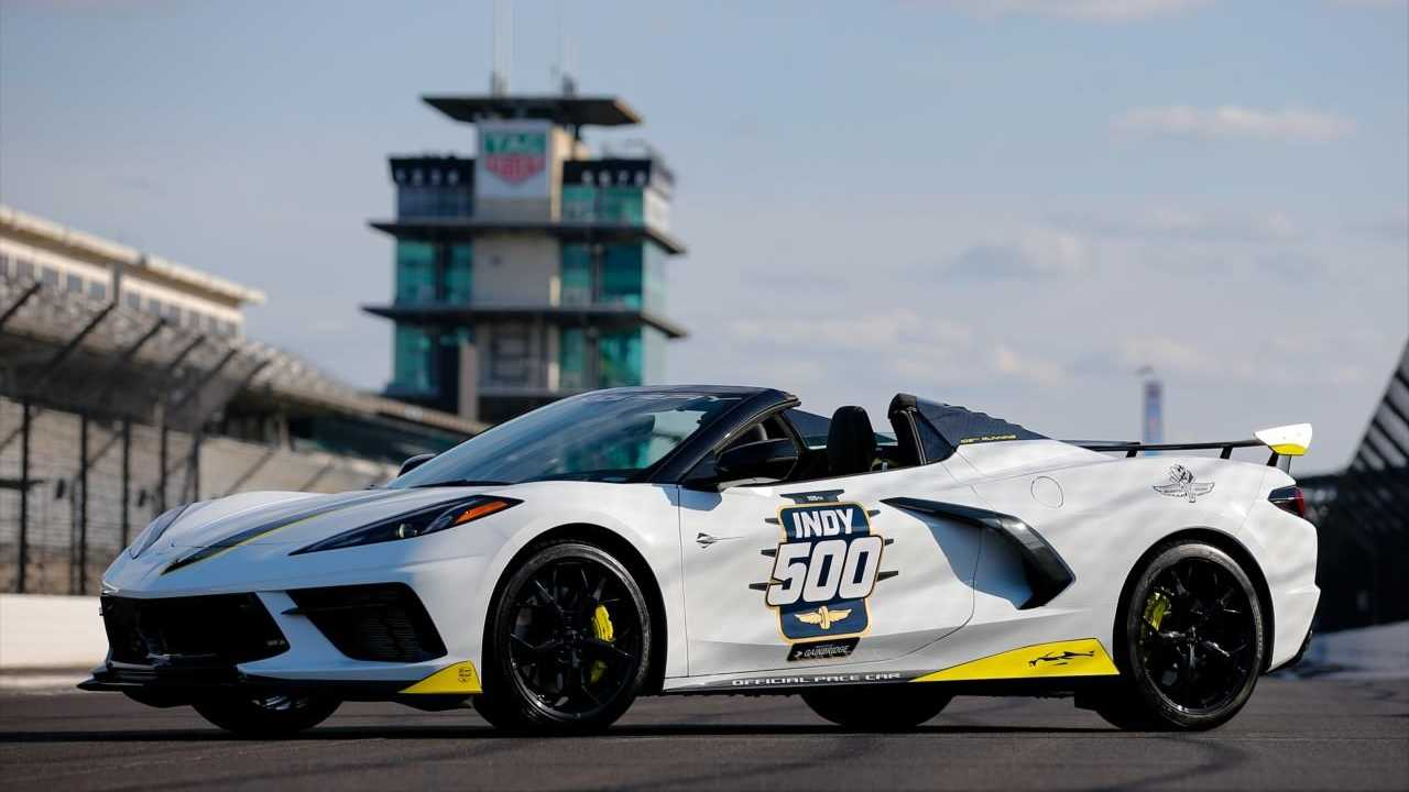 The 2021 Chevrolet Corvette Convertible will be the official pace car for the 105th Indy 500.