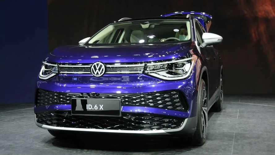 Volkswagen ID.6 no Salão de Xangai 2021