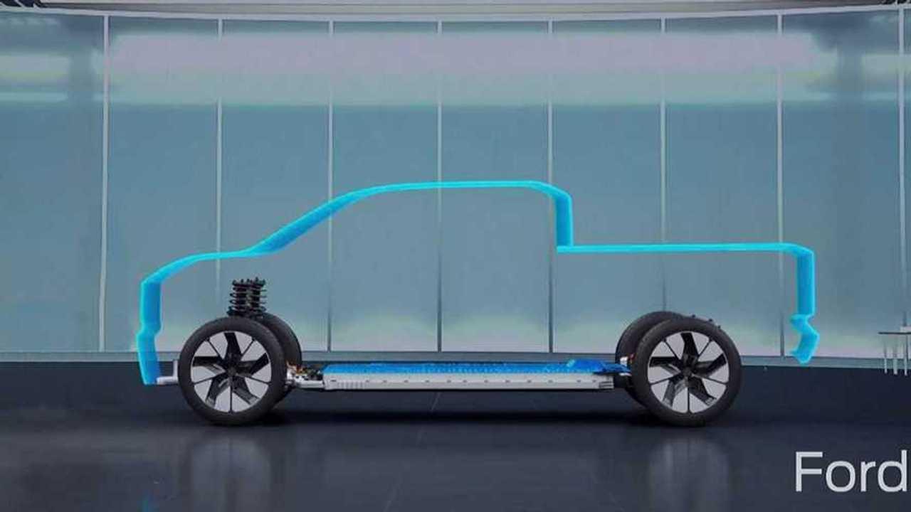 Ford Ufak Elektrikli Pick-Up İpucu (Teaser) Görüntüsü