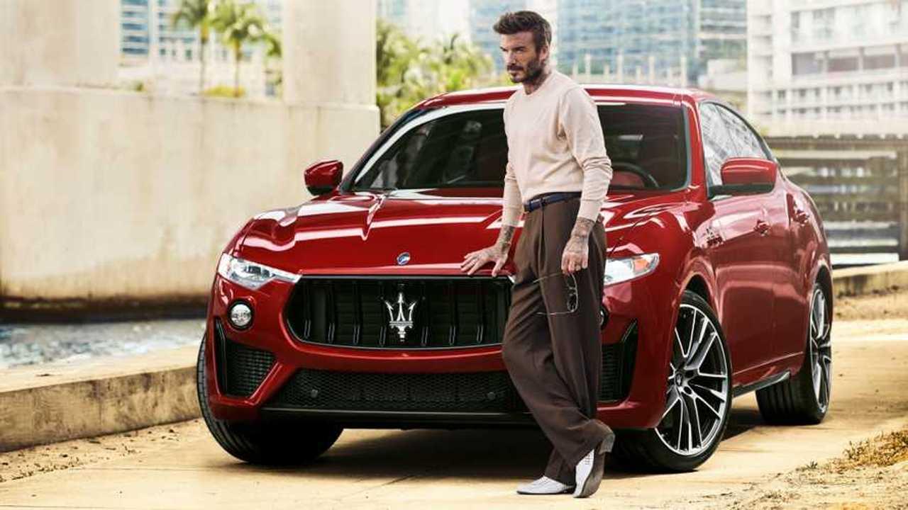 David Beckham jadi brand ambassador Maserati.