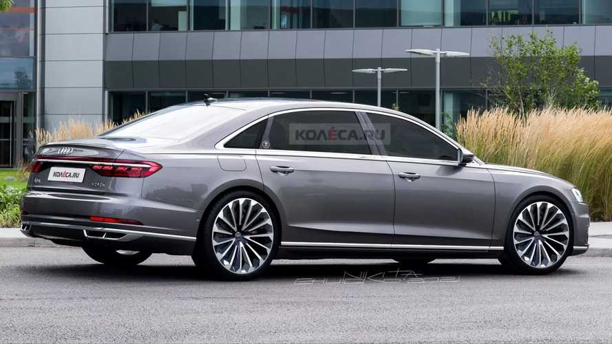 Audi A8 Horch Unofficial Renderings