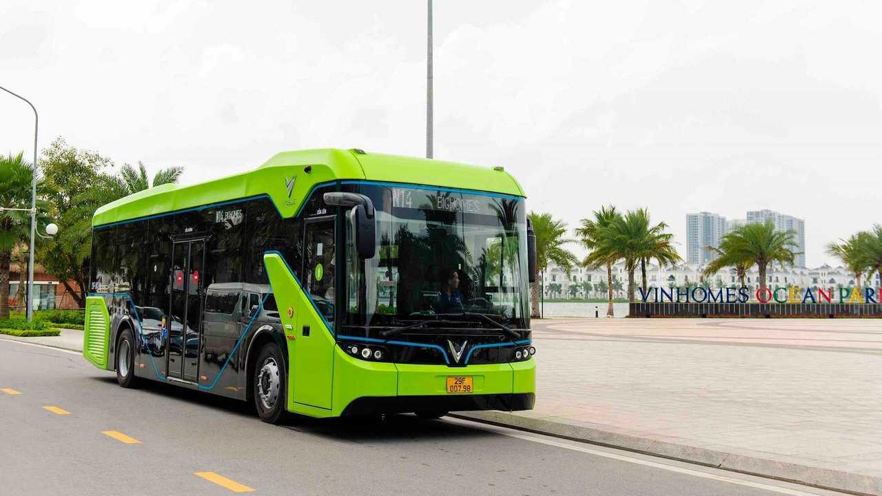 VinBus electric bus