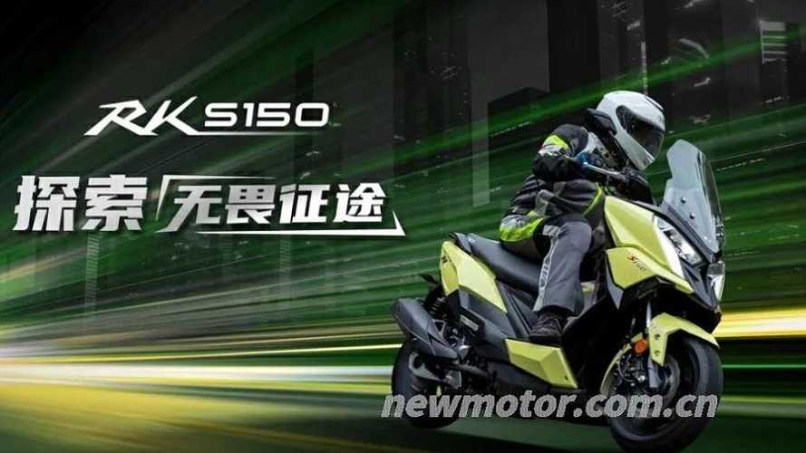 Kymco Unveils New RKS 150 Maxi-Scooter