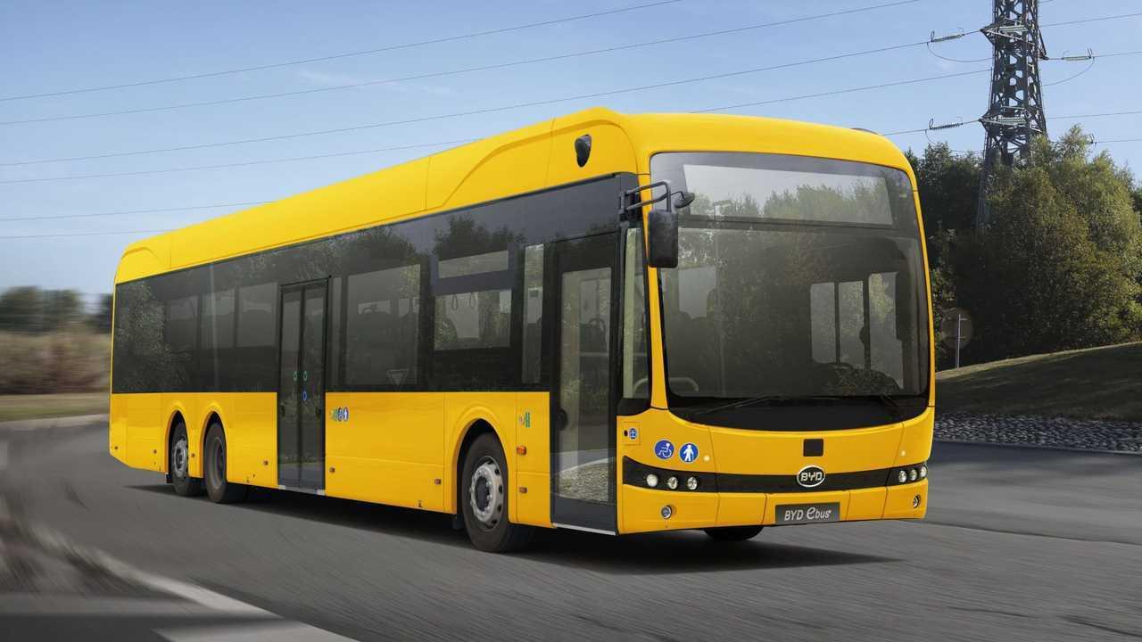New BYD Class-II 15-metre eBus in Europe