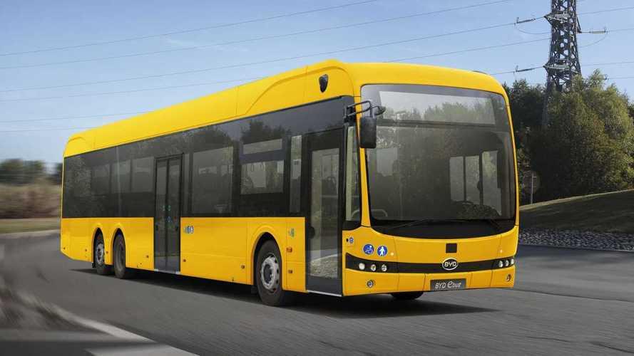 BYD Wins Major Order For 79 Electric Buses In Sweden