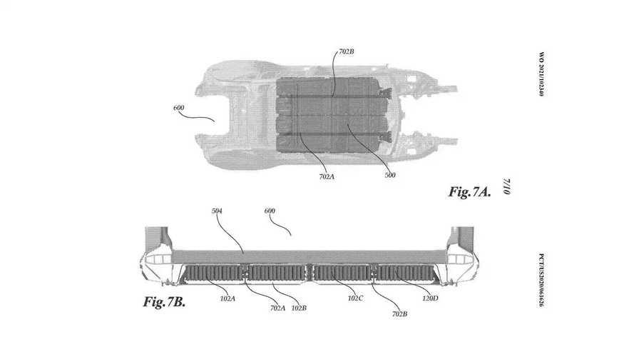 Svelati i brevetti Tesla per le batterie strutturali con celle 4680