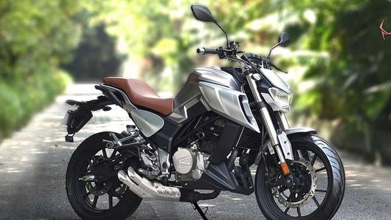 New Chinese Motorcycle: Senke SK400