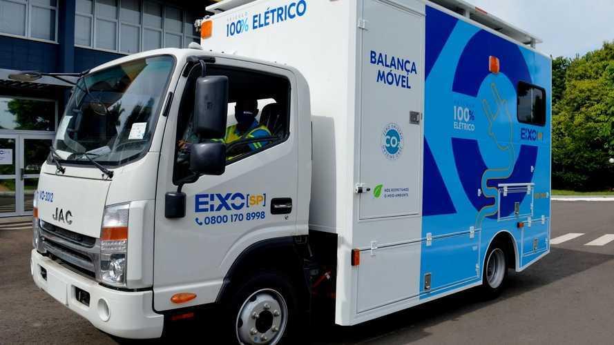 Concessionária de rodovias em SP adquire caminhões elétricos da JAC