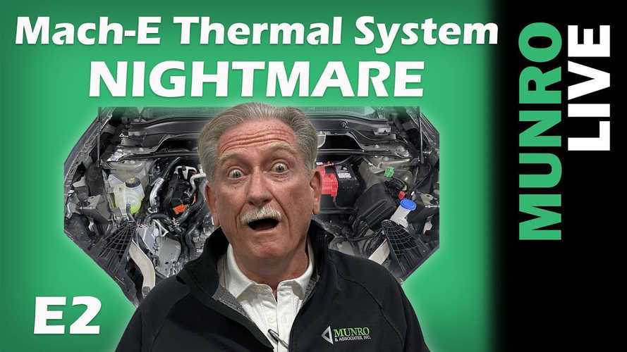 Sandy Munro Finds Ford Mustang Mach-E's Thermal System A Nightmare