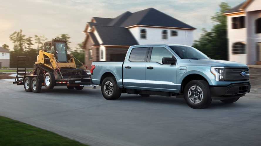 2022 Ford F-150 Lightning Pro Debuts As EV Work Truck For Sub-$40K