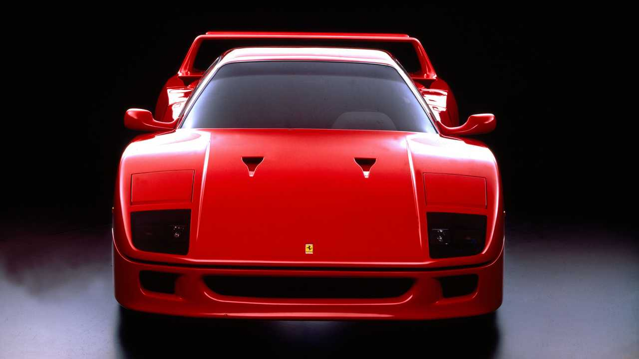The history of the Ferrari F40 |  Stories of Engines