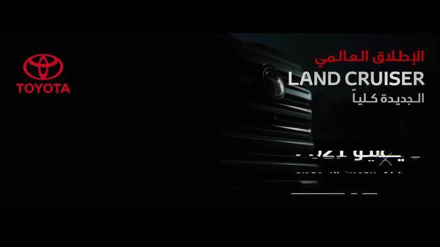 Nuova Toyota Land Cruiser, quella grande debutta il 9 giugno