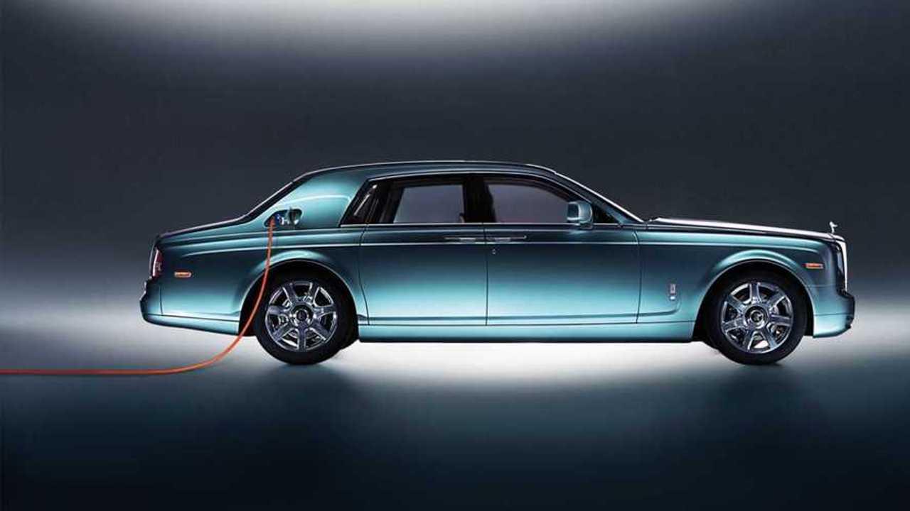 Rolls-Royce bestätigt, das man ein erstes Elektroauto namens Silent Shadow bauen wil