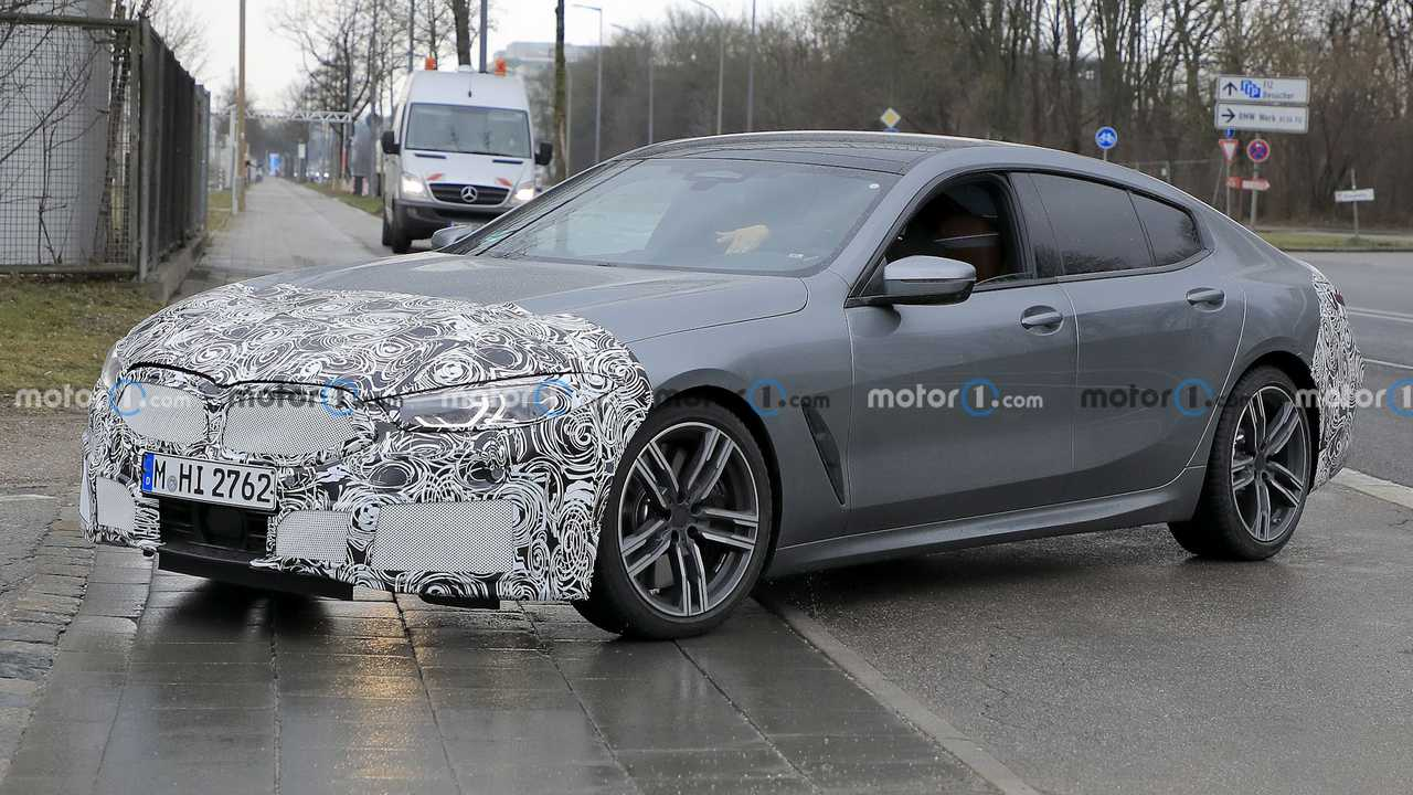 BMW 8 Series Gran Coupe spy photos.
