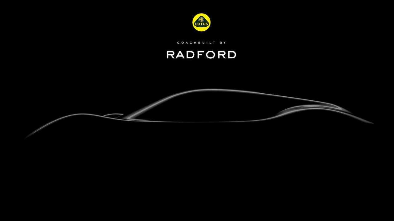 Lotus Temelli Radford Modeli Geliyor