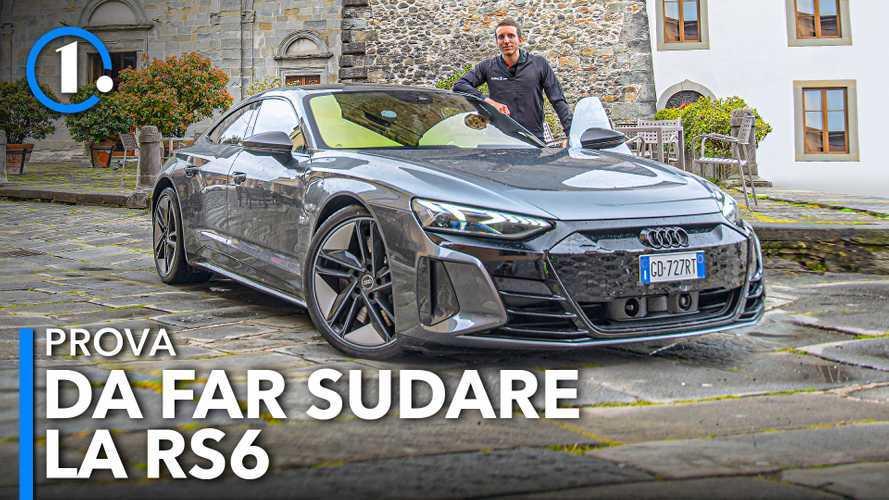 Audi RS e-tron GT, 646 silenziosi CV spremuti tra le curve