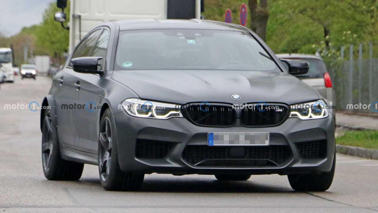 Nuova BMW M5, le foto spia del prototipo