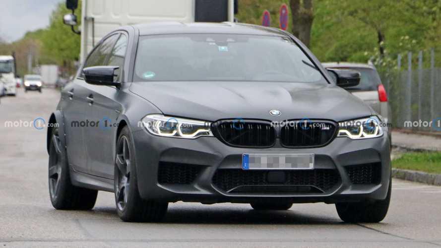 BMW al lavoro su un'M5 ancora più estrema? Le foto spia