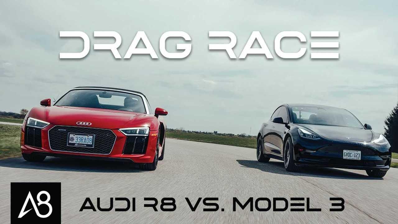 model 3 vs r8 spyder