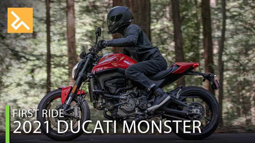 2021 Ducati Monster First Ride Review: A Mannerly Monster