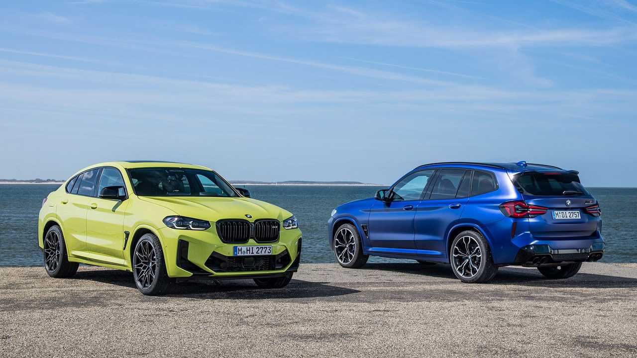 Refreshed 2022 BMW X3 and X4 lineup debuts.