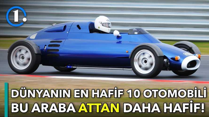 Dünyanın en hafif 10 otomobili | Bilgin Olsun
