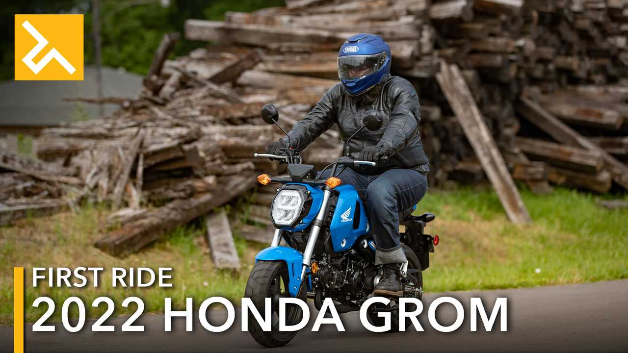 2022 Honda Grom Review Feature