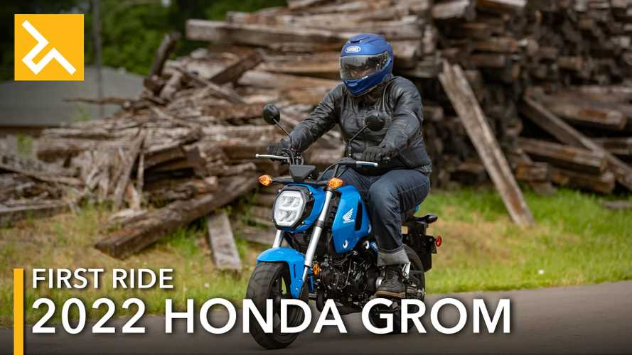 2022 Honda Grom First Ride Review