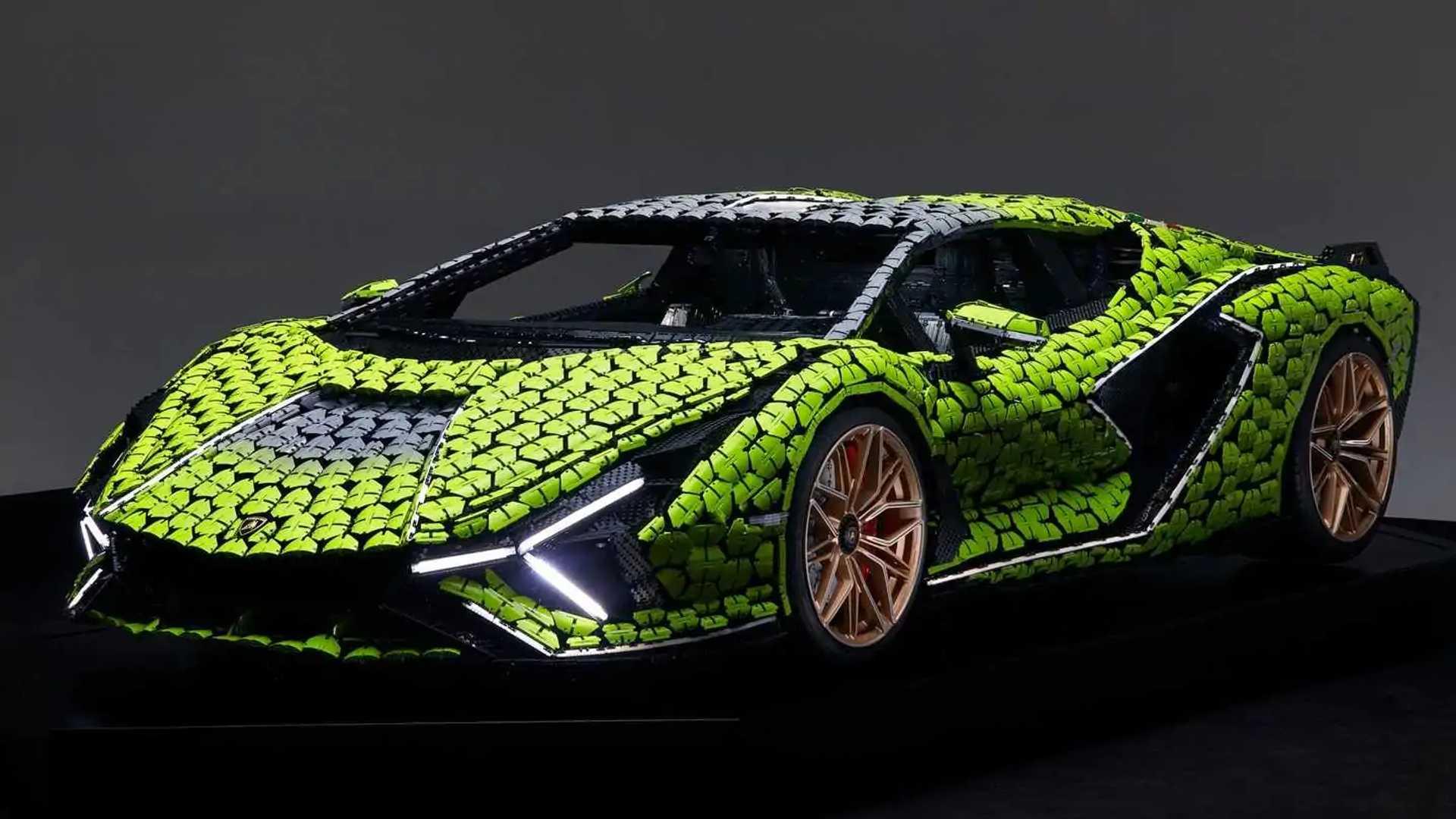 Lamborghini Sian FKP 37 Gets Epic Life-Size Lego Replica