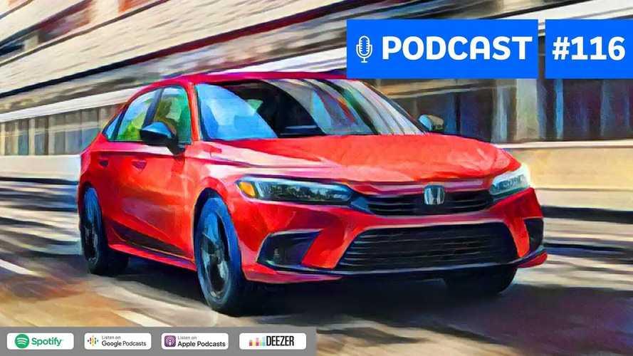 Motor1.com Podcast #116: Novo Honda Civic é um bom anti-SUV?
