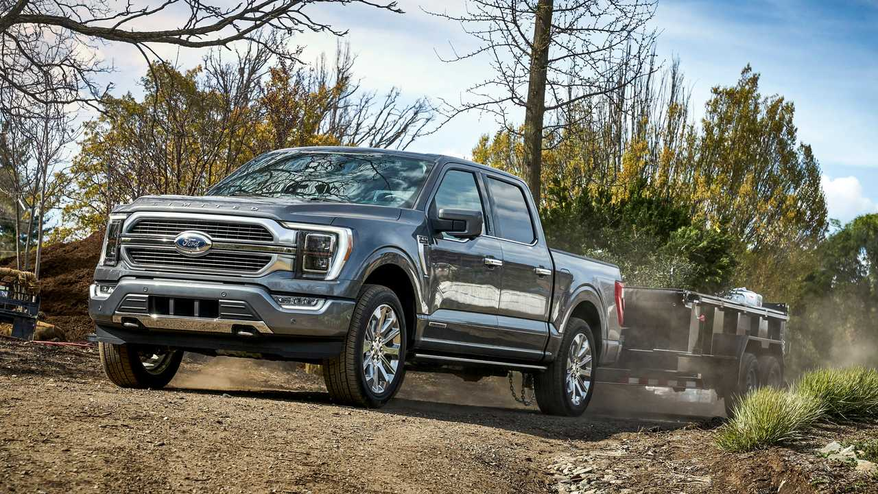 2021 Ford F-150 Added Features Towing Front